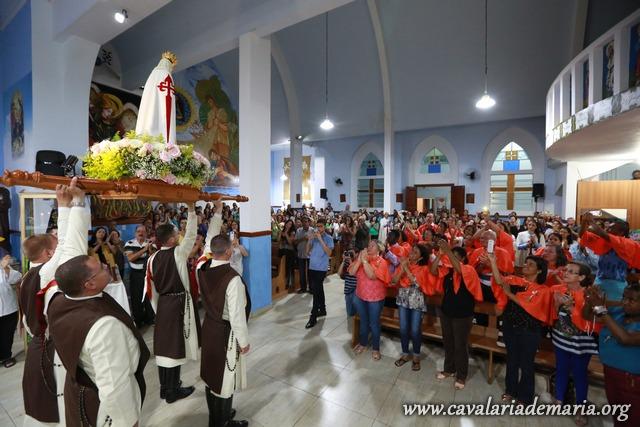 Em Juiz de Fora – MG, Missões Marianas na Paróquia Nossa Senhora Aparecida