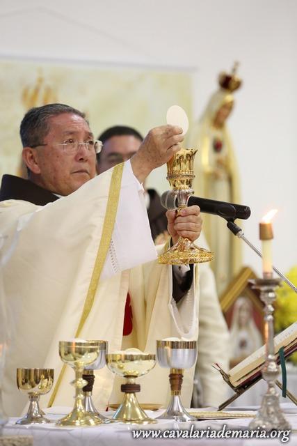 O papel da Santa Missa na vida da Cavalaria de Maria