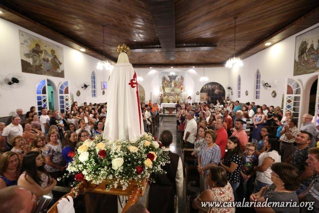Em Pedra Bela – SP, Missões Marianas na Paróquia São Sebastião