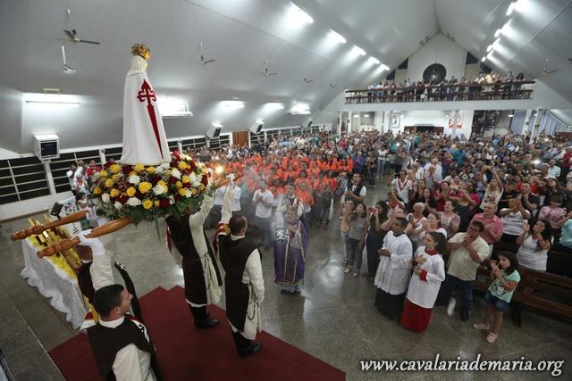 Em Foz do Iguaçu – PR, reaviva a chama de fé na Paróquia Nossa Senhora da Luz