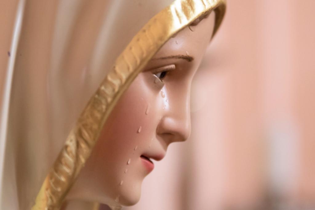 Imagens de Nossa Senhora e São José choram na Casa dos Arautos do Evangelho