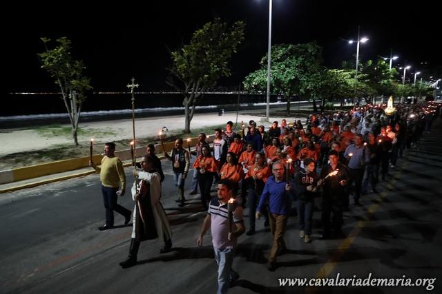 Em Itapema – SC, Missões Marianas na Paróquia Santo Antônio