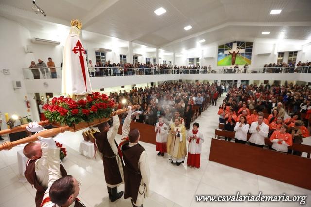 Em São José – SC, Missões na Paróquia Santa Cruz
