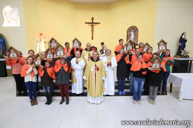 Em São Francisco do Sul – SC, Missões Marianas na Paróquia Santa Paulina