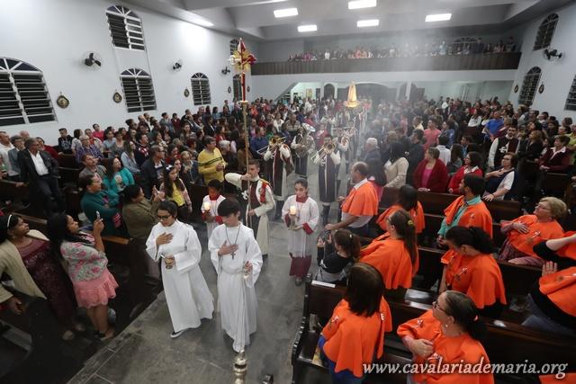 Em Joinville – SC, Missões Marianas na Paroquia São Paulo Apóstolo