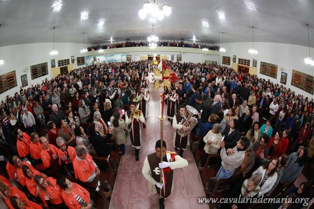 Em Capivari de Baixo – SC, Missões Marianas