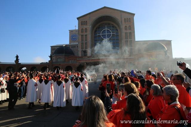 Grande fervor mariano na IX Peregrinação Nacional ao Santuário de Aparecida