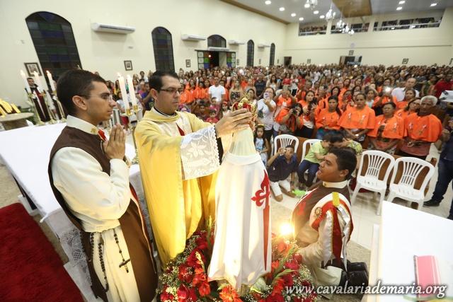Em Campos Belos – GO, Missões para Cristo com Maria