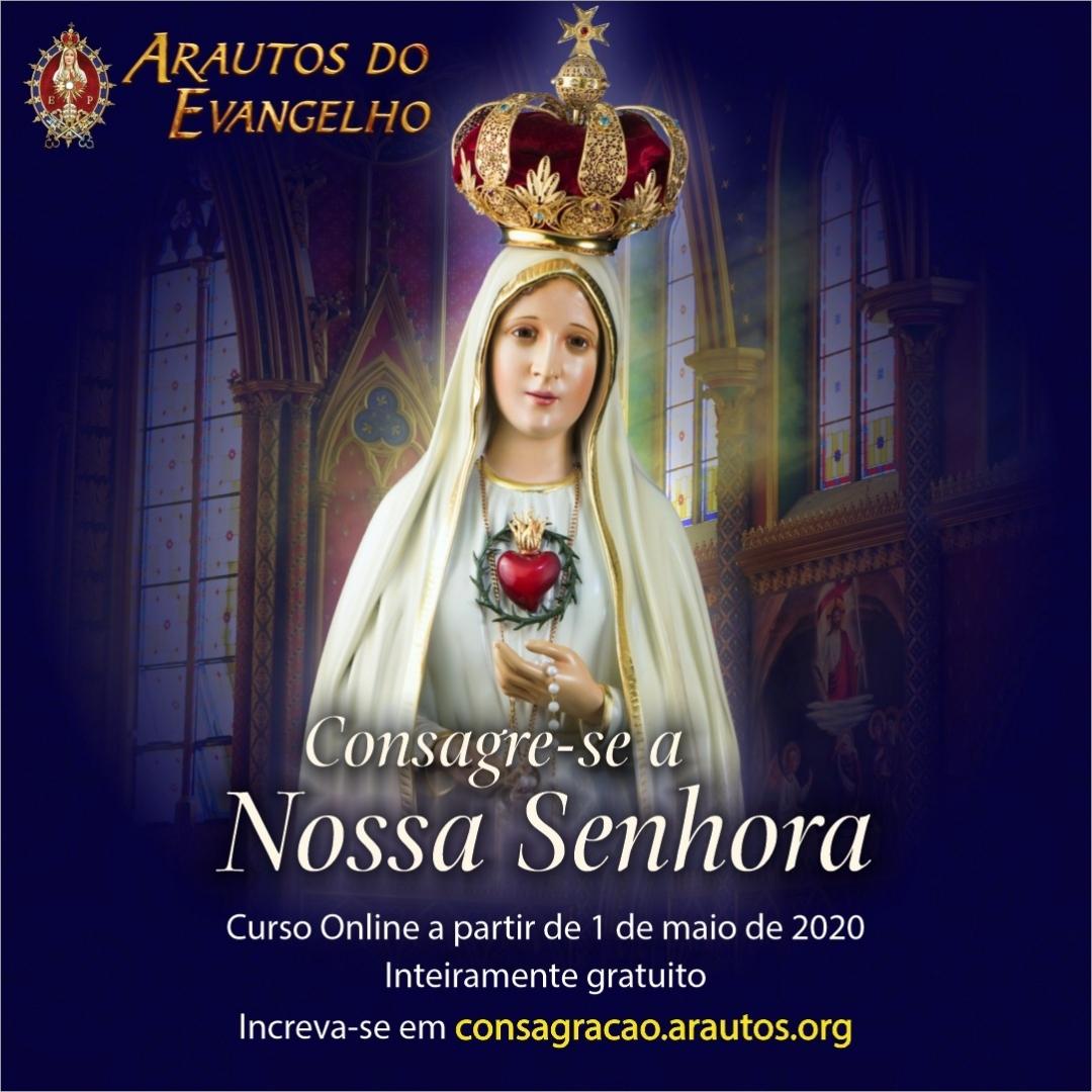 Curso Online de Consagração a Nossa Senhora