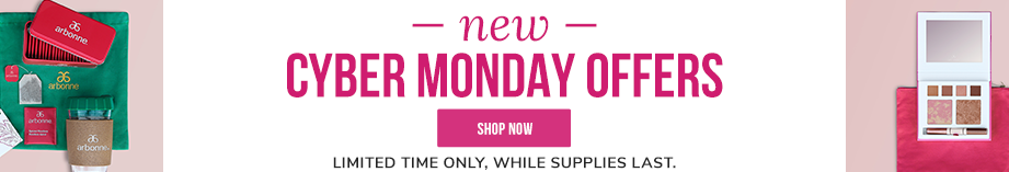 New Cyber Monday Offers. Limited time only. While supplies last. Shop Now