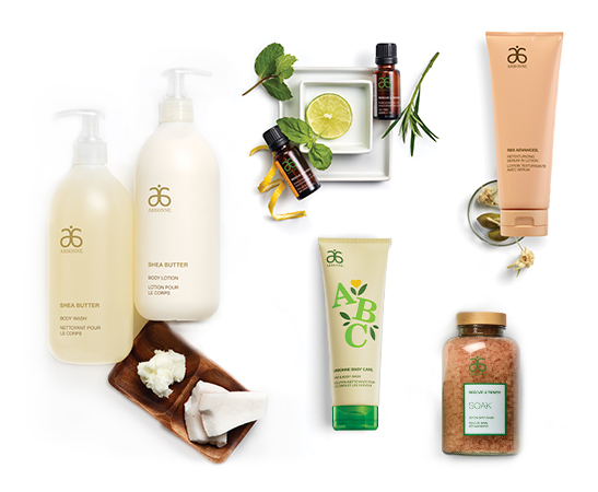 Arbonne Bath & Body Products