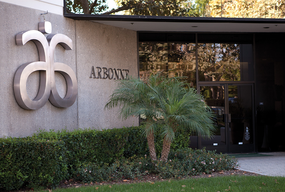 Arbonne International home office headquarters in Irvine, CA, United States of America