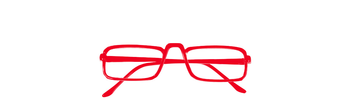 Arbonne founder Petter Mørck's red glasses
