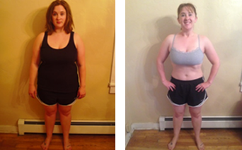 Evolution Challenge Before and After pictures - Kari Triplett