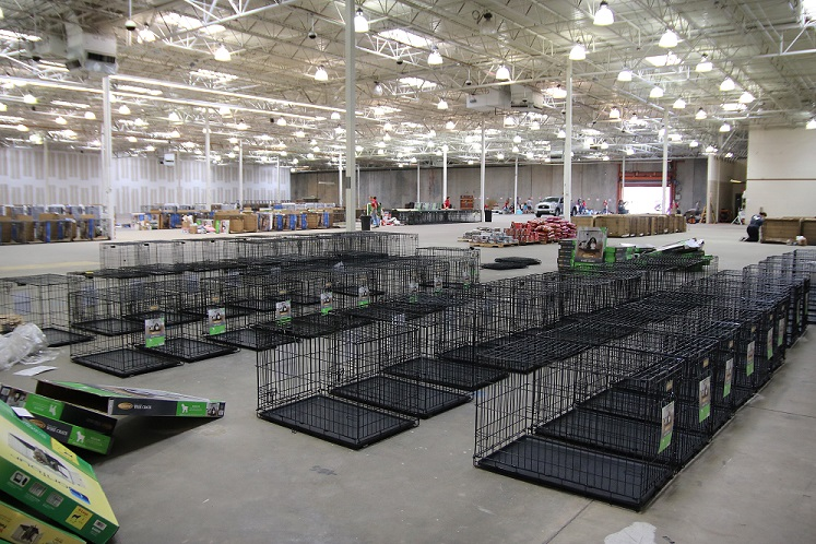 A Former Home Depot Store North Of Atlanta Is Being Prepared To House Up 1000 Pets Fleeing Hurricane Irma Courtesy The Humane Society