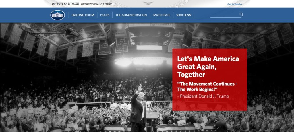 References to climate change disappear from White House website ...