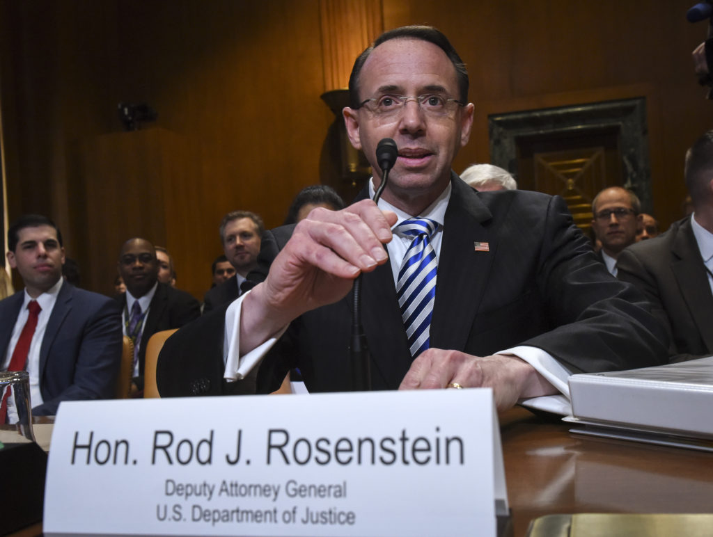 Image result for images of rod rosenstein