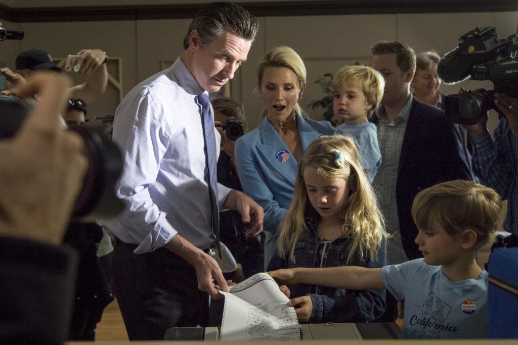 Gavin Newsom Advances To Showdown For Governor Of