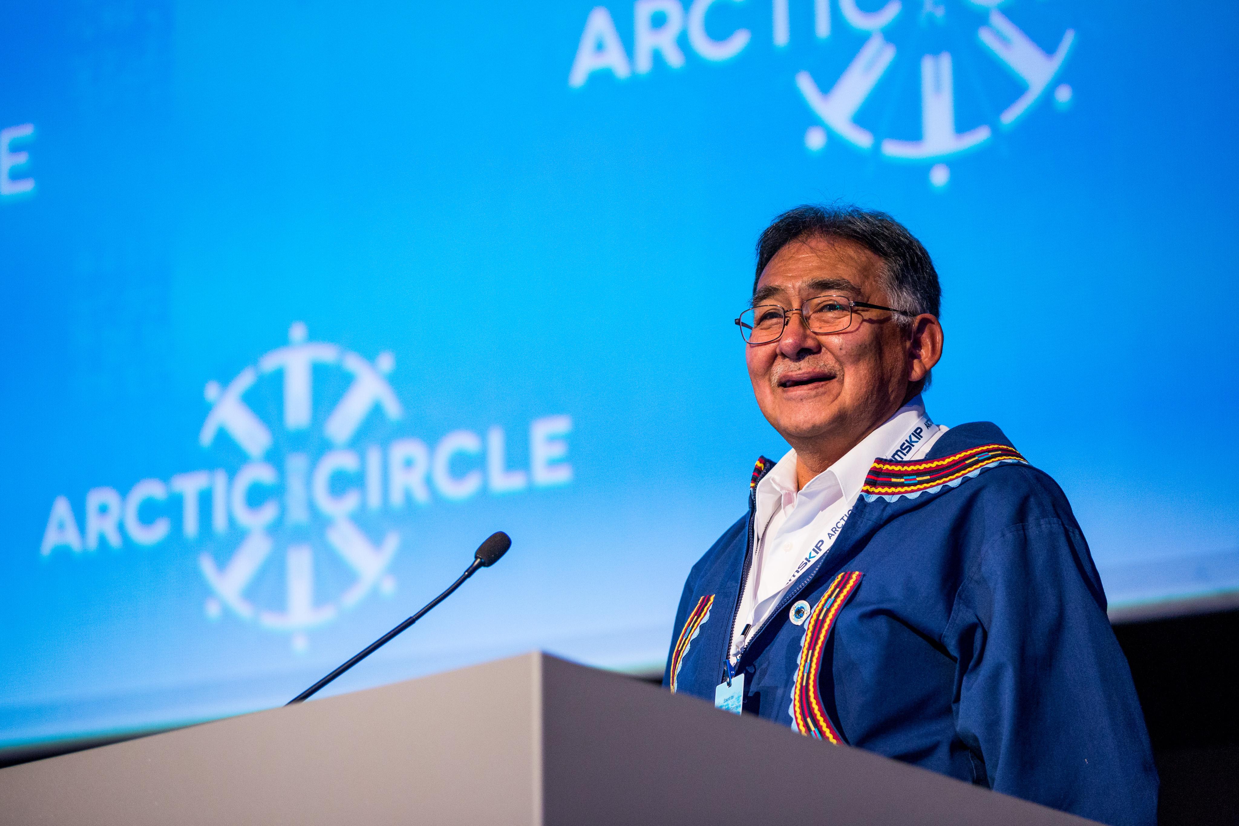 Edward Itta, Commissioner, U.S. Arctic Research Commission (Loren Holmes / Alaska Dispatch News)