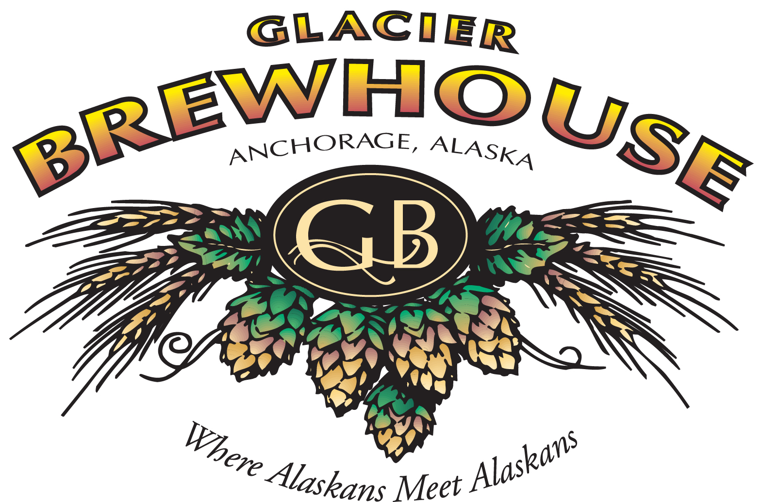 Co color art printing anchorage alaska - Glacier Brewhouse Alaska S