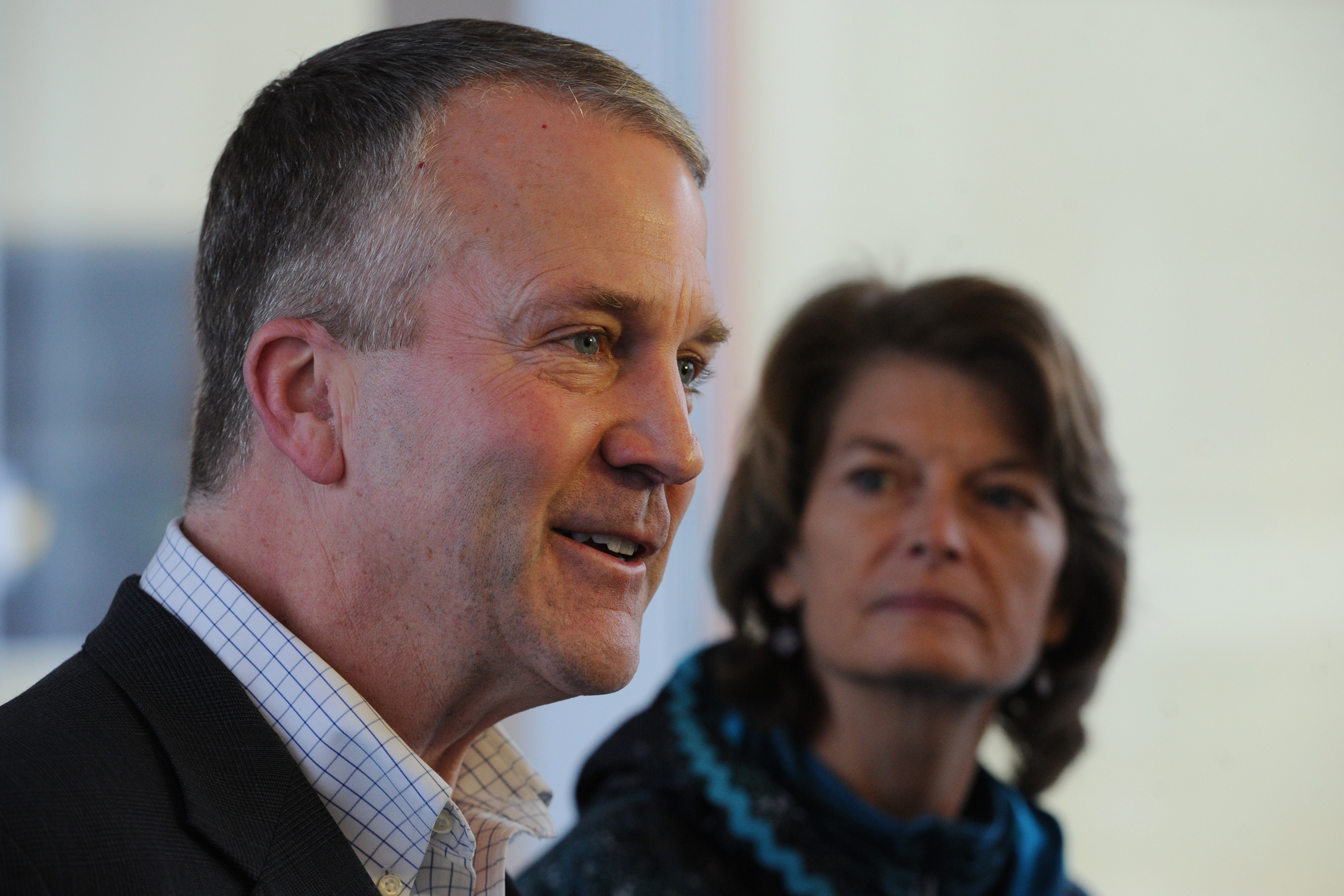 "U.S. Sens. Dan Sullivan and Lisa Murkowski, R-Alaska, respond to the ""dictate"" coming out of the Obama administration on Tuesday, Dec. 20, 2016, ""that effectively takes all of the Chukchi Sea, and just about all of the Beaufort Sea, off limits for oil and gas production permanently."" (Bill Roth / Alaska Dispatch News)"