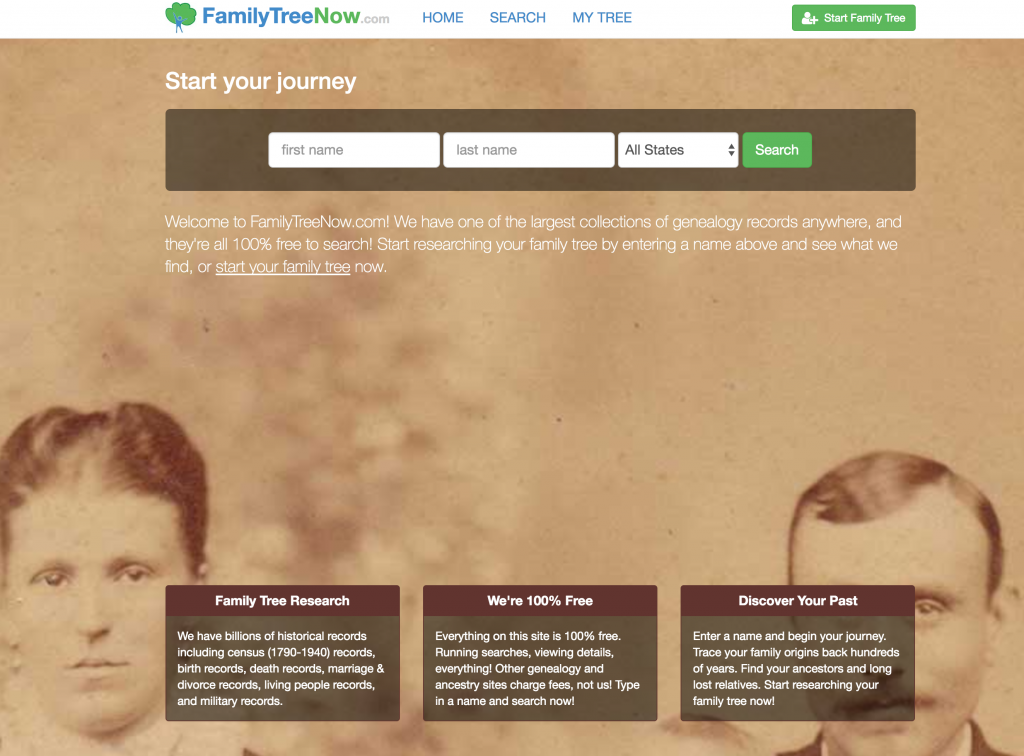 This creepy genealogy site knows a lot about you - and shares it