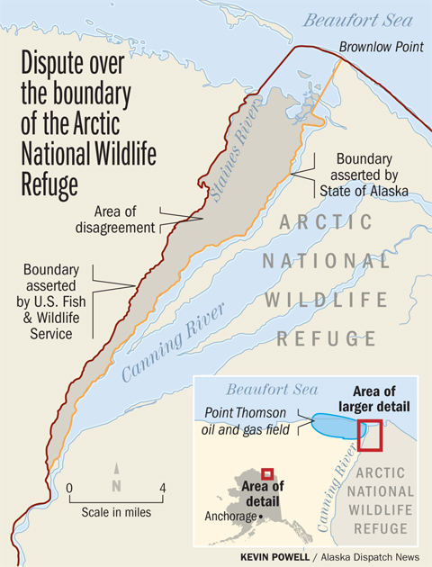 Anwr Alaska Map.Alaska Is Trying To Slice Some Land Out Of Anwr Anchorage Daily News