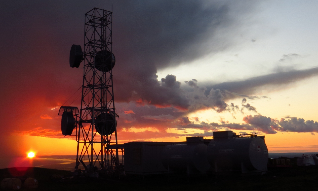 GCI's TERRA network is one of the largest microwave networks in the nation and serves more than 40,000 people in rural Alaska. (GCI photo)