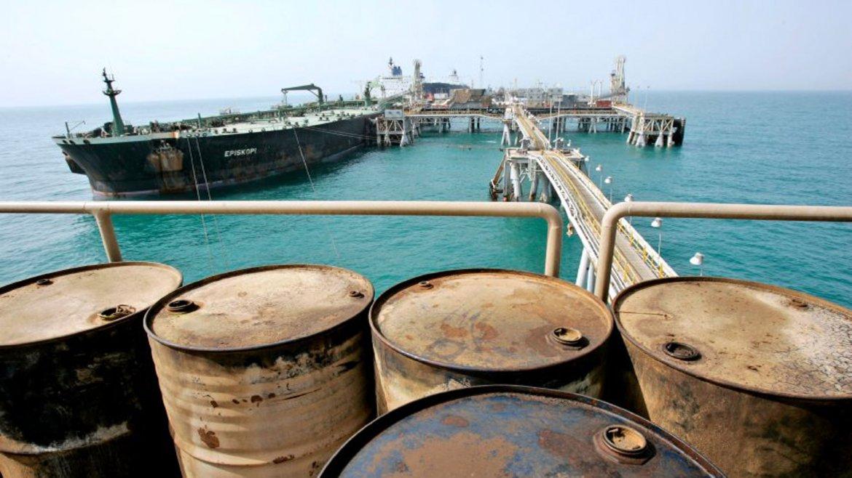 Exportación de crudo iraní en el Golfo Pérsico