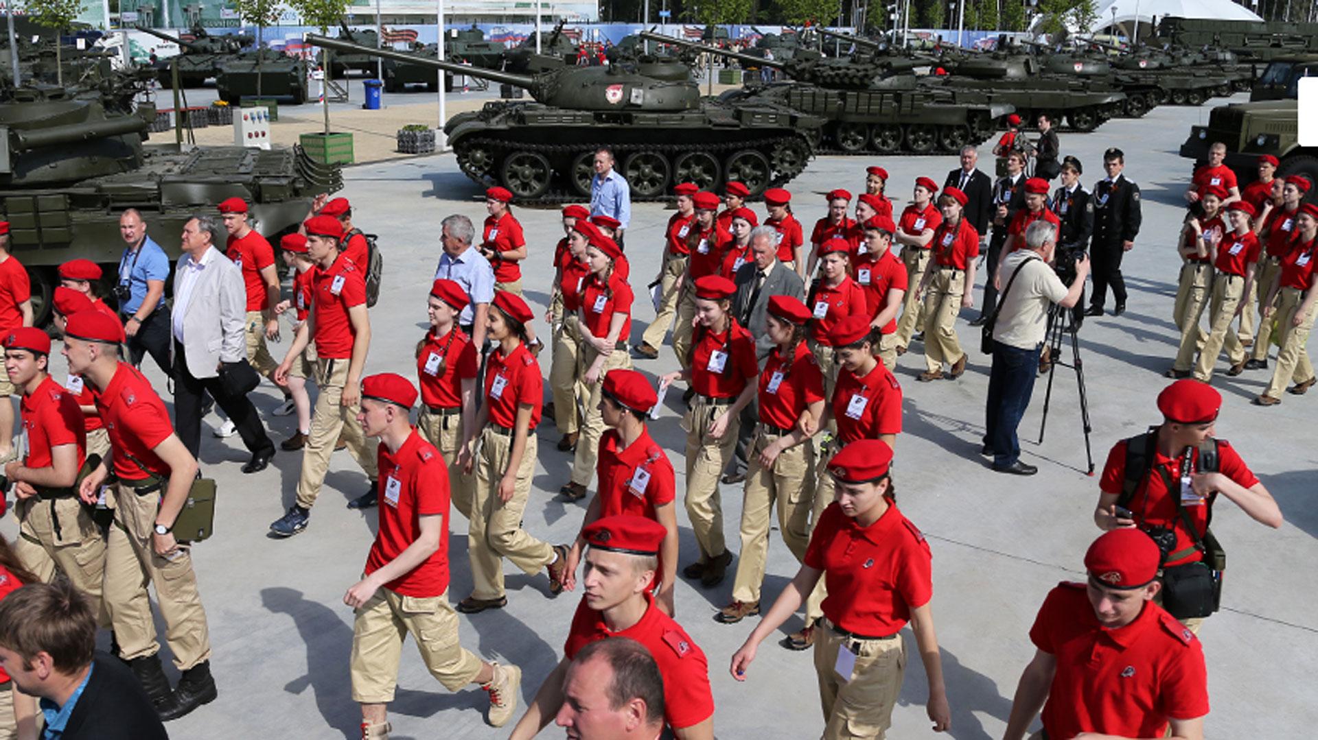 Este grupo fue creado por iniciativa directa del Ministerio de Defensa, apoyada por el presidente de la Federación Rusa