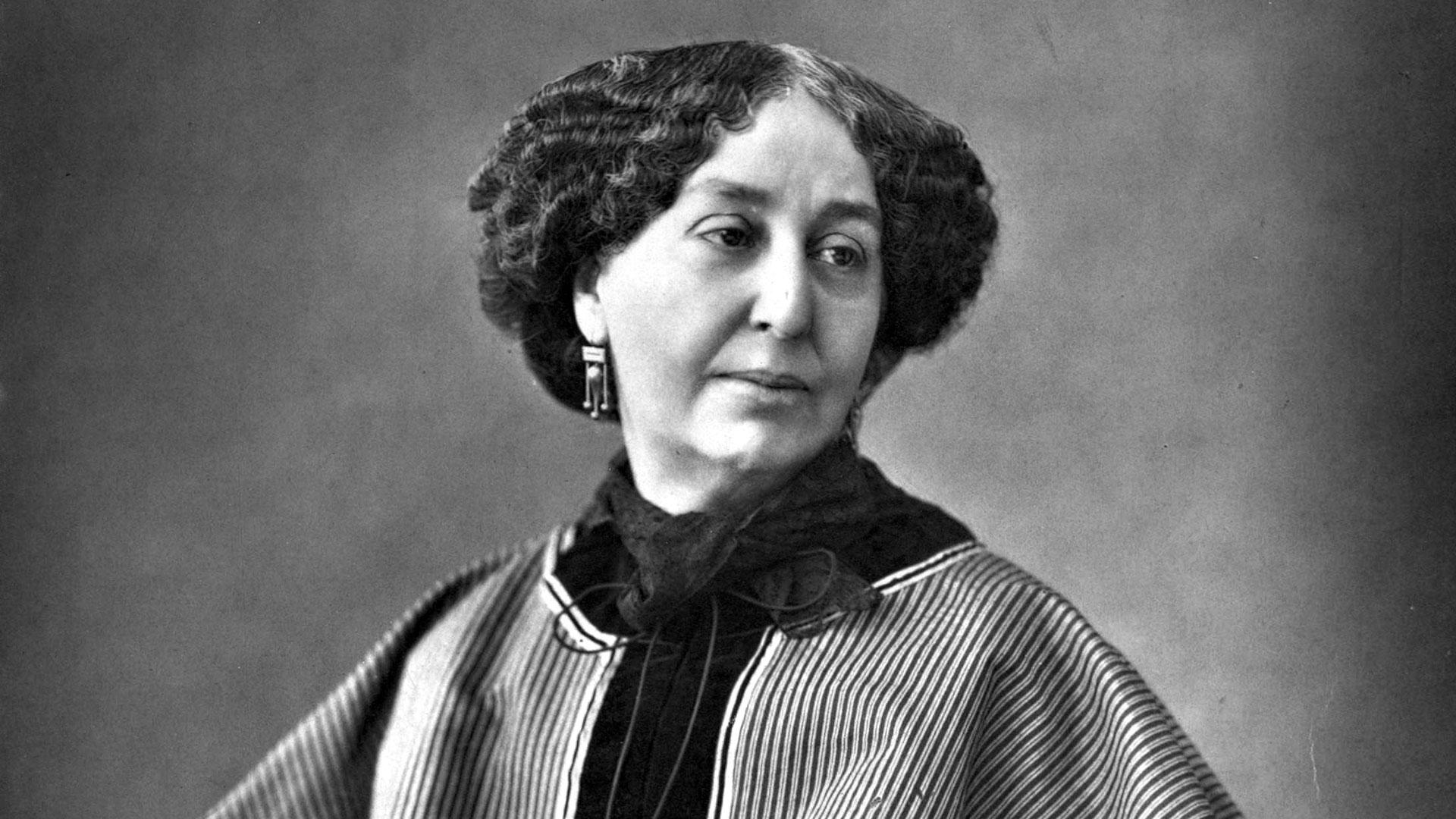 Amandine Aurore Lucile Dupin, conocida como George Sand, fue una de las escritoras más destacadas del SXIX.