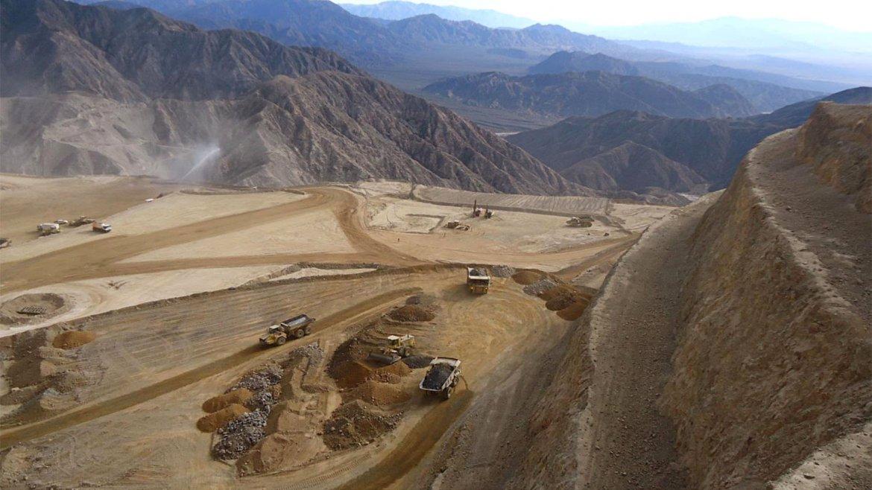 La mina Gualcamayo, en Jáchal, provincia de San Juan.