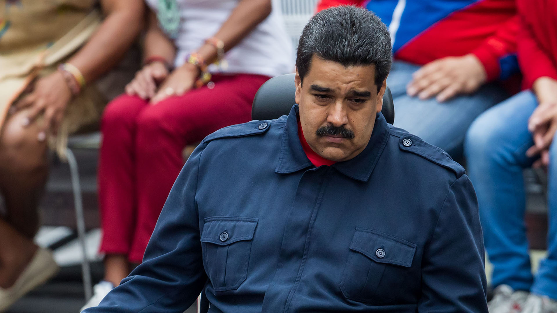 La justicia reconoció como válidas las firmas para el revocatorio a Maduro (EFE)