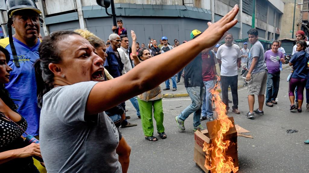 Protestas contra el régimen de Nicolás Maduro (AFP)