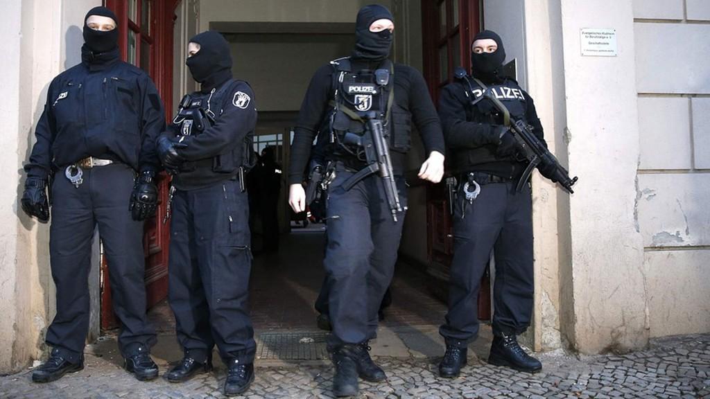La policía alemana está a cargo de los operativos antiterroristas