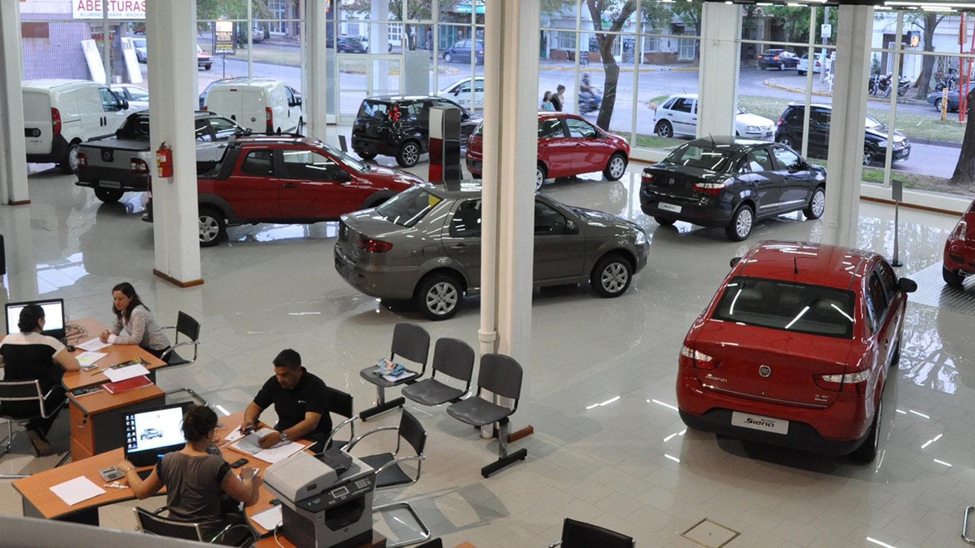 En el primer semestre se mantuvo firme la venta de unidades con prenda.