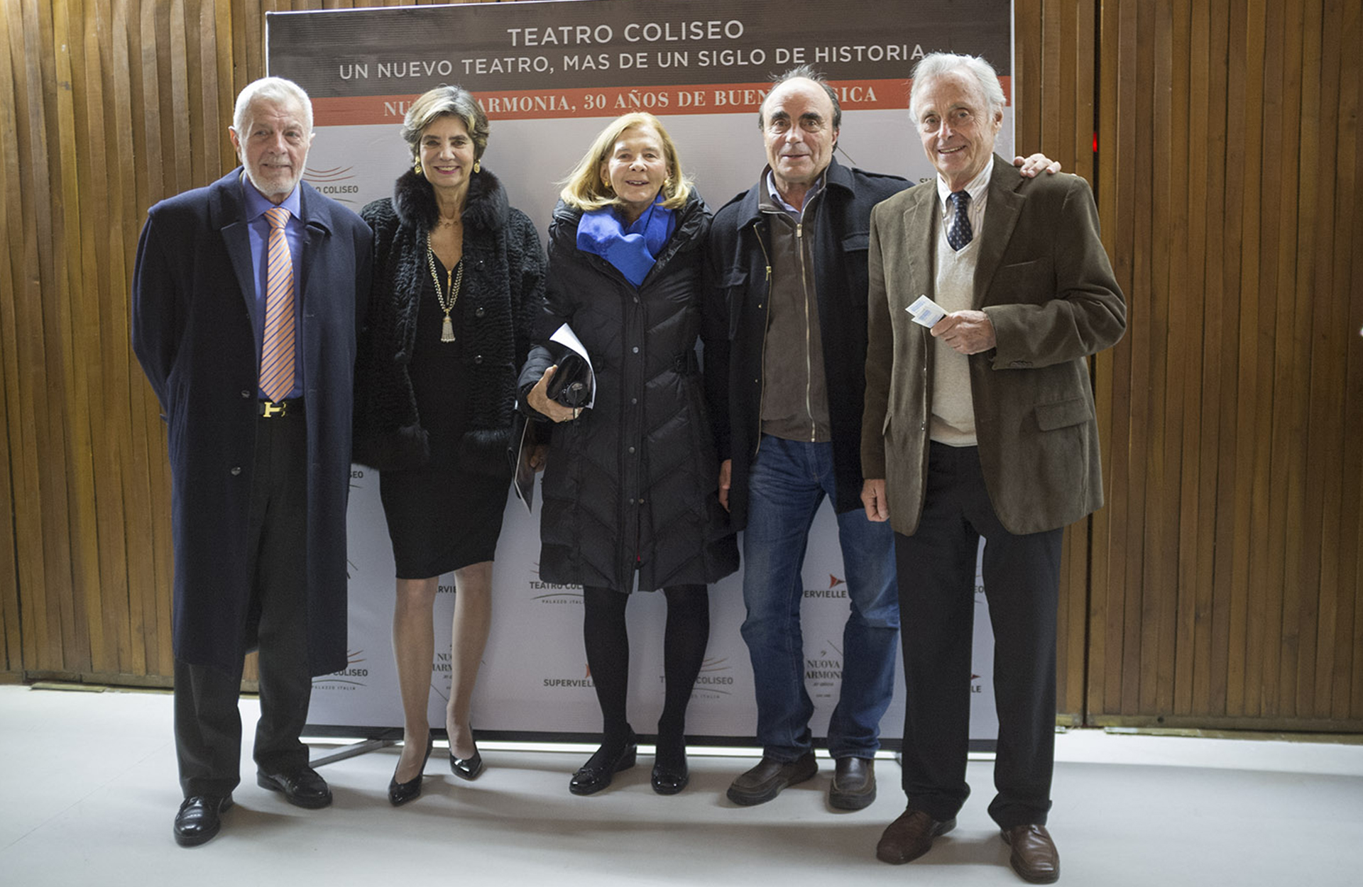Alejandro Cordero, Fini Travers de Braun, María Eugenia Cordero de Saavedra, Martín Braun y Ricardo Braun Lasala