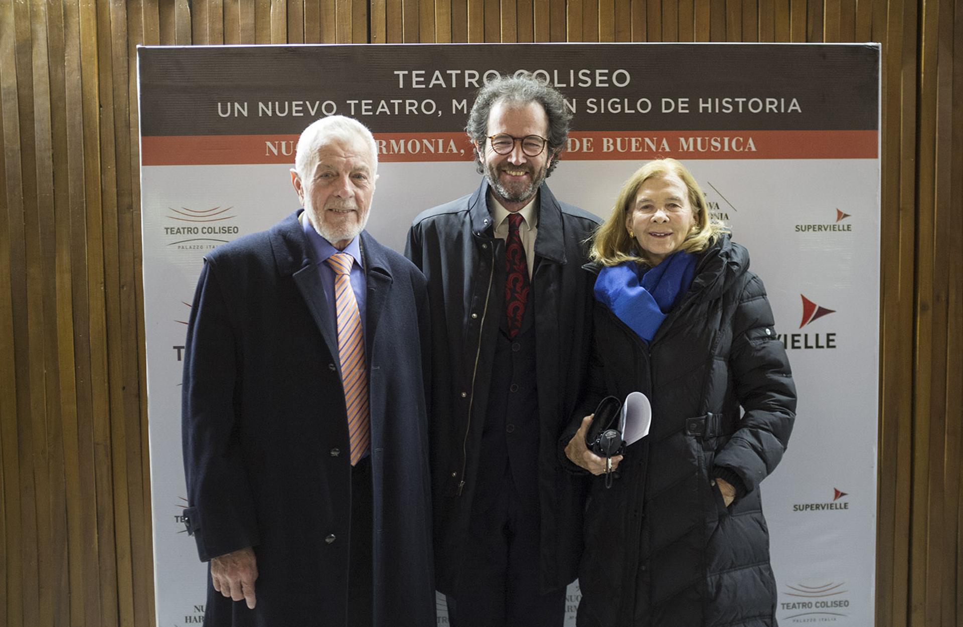 Alejandro Cordero, Lucas Beccar Varela y María Eugenia Cordero