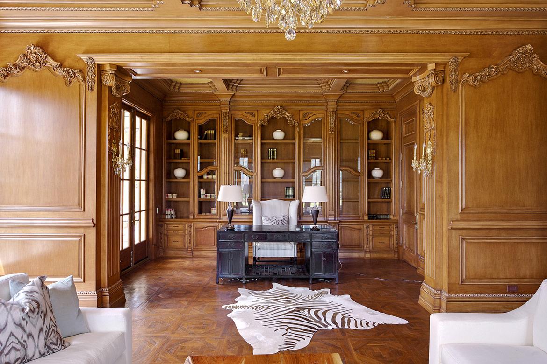 Una de las salas de estar donde Neymar disfrutará de su tiempo libre