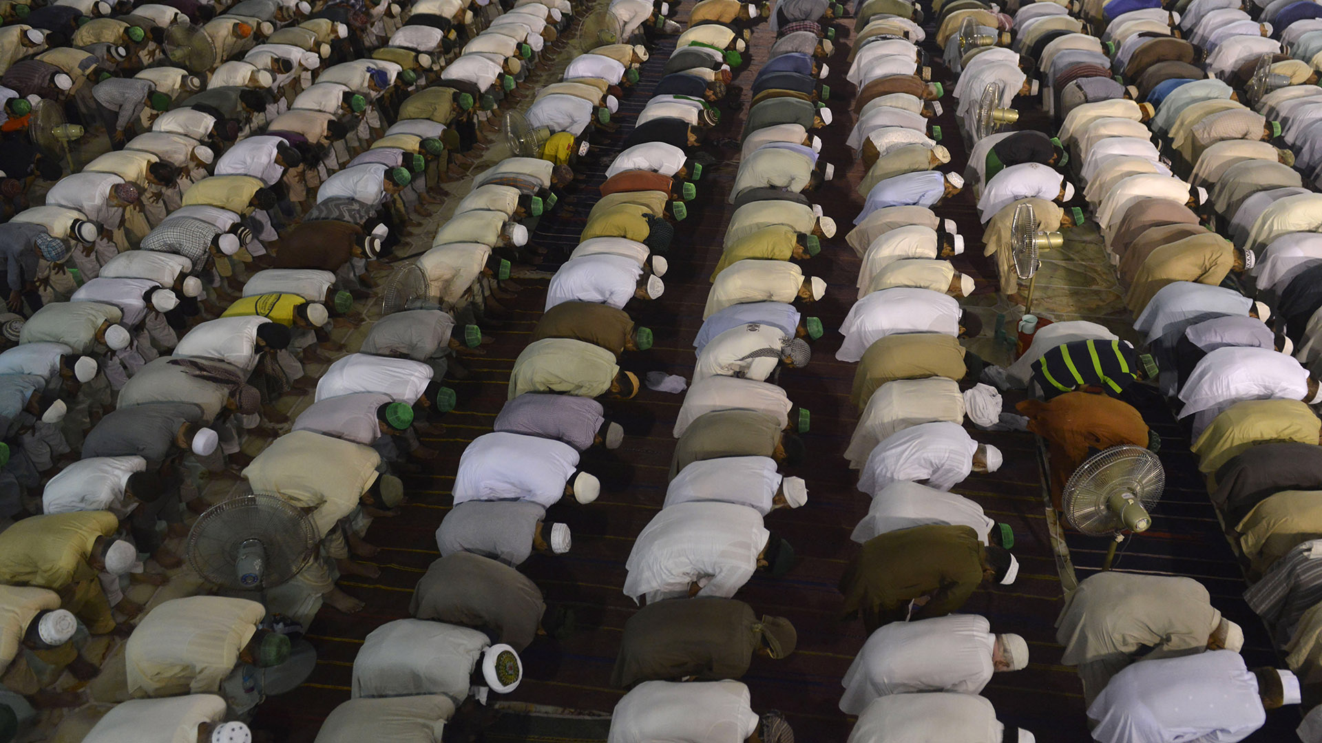 Los musulmanes dejan de realizar todas estas actividades porque Alá así lo ha ordenado (AFP)