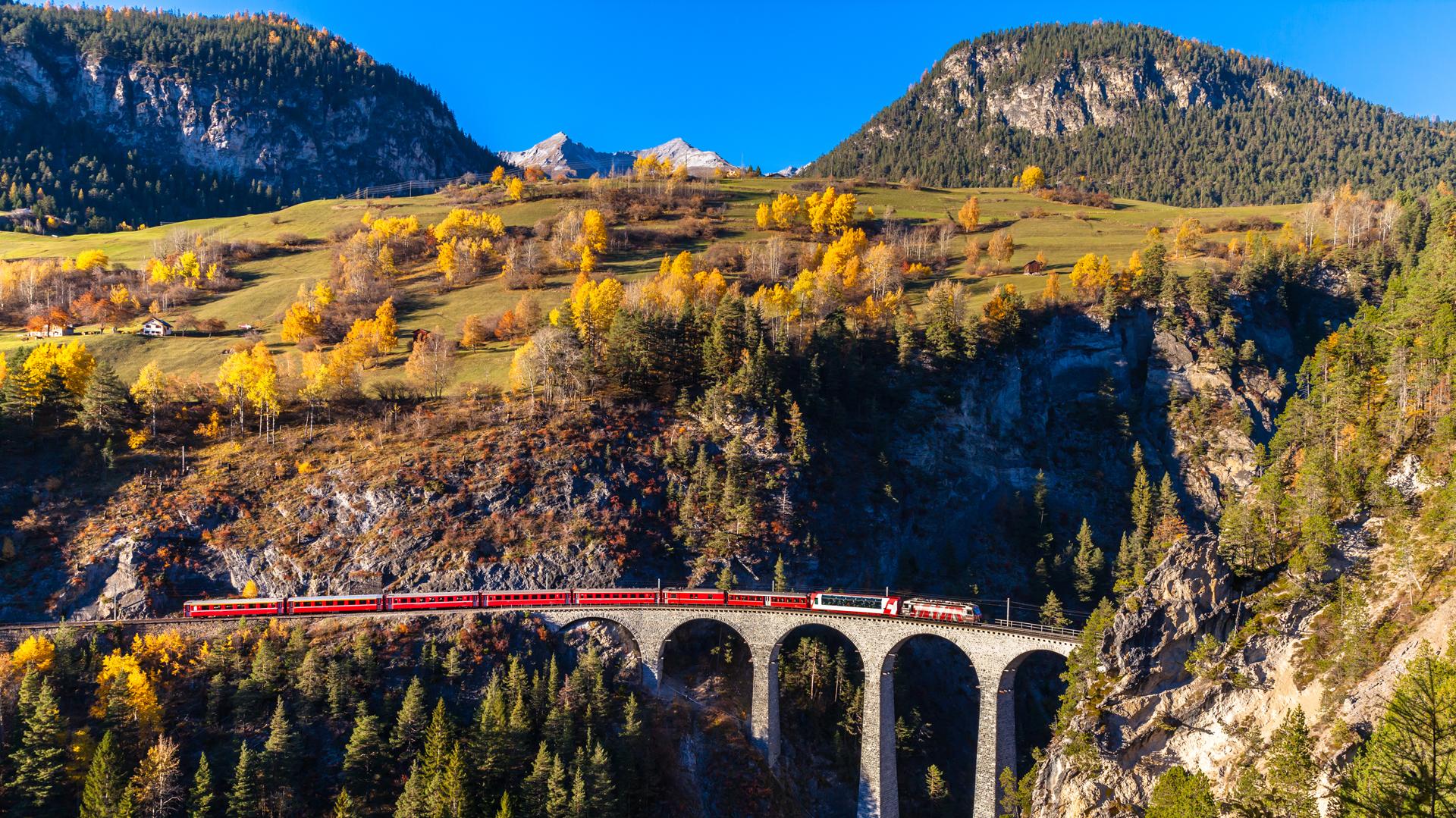 El San Gotardo es el túnel ferroviario más largo del mundo (Shutterstock)
