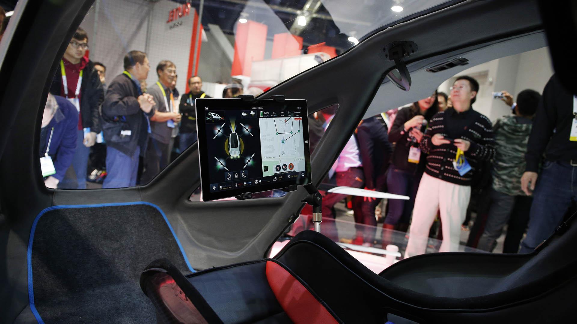 El interior del vehículo