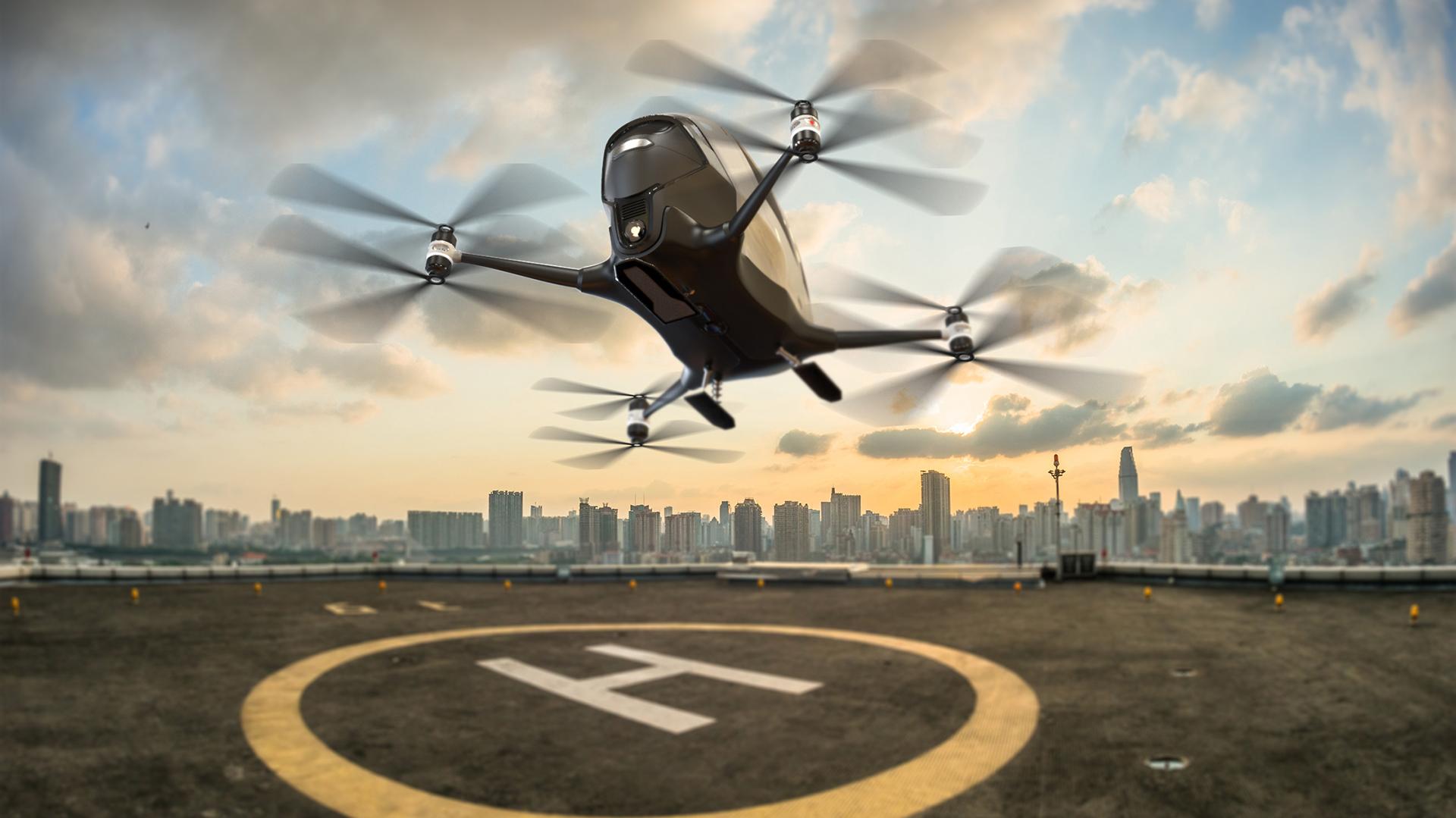 Es capaz de transportar una persona en viajes de corta y media distancia