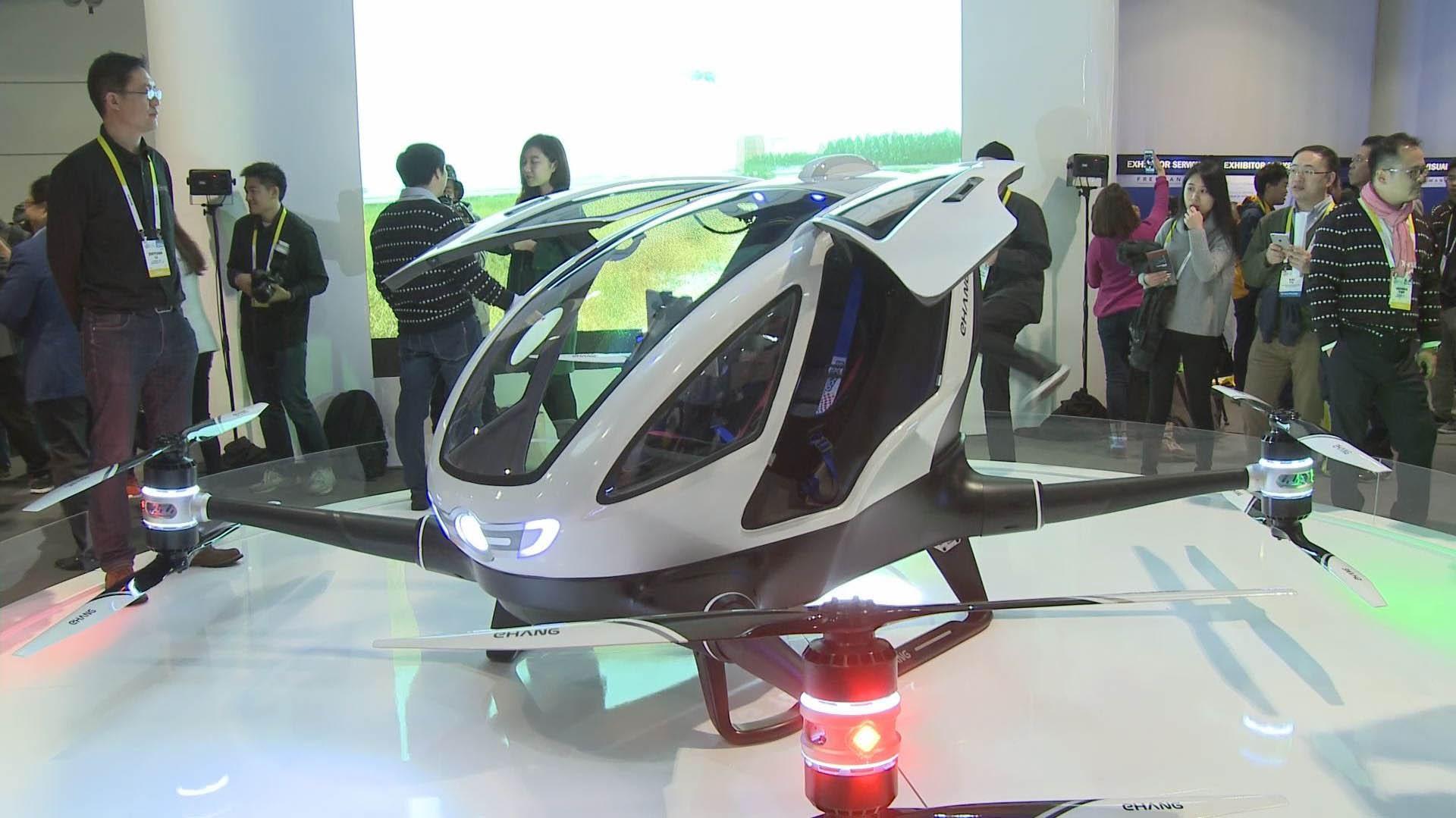 El dispositivochino fue presentado en una exposición de tecnología en Las Vegas