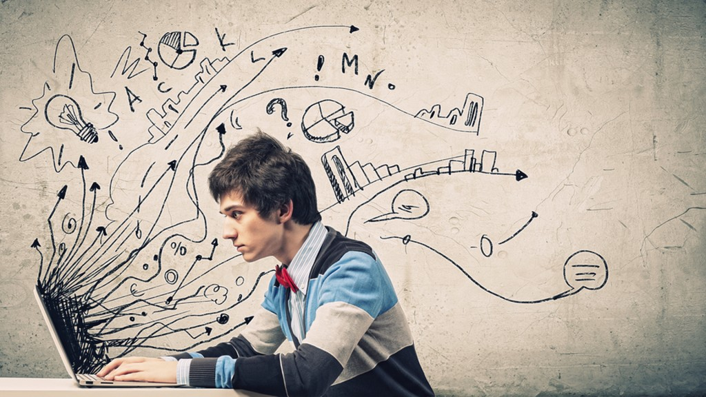 Los jóvenes y la creatividad, el futuro del cual depende la sociedad. (Shutterstock)