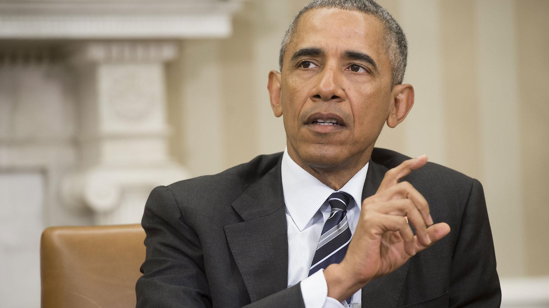 Barack Obama, presidente de los Estados Unidos (AFP)
