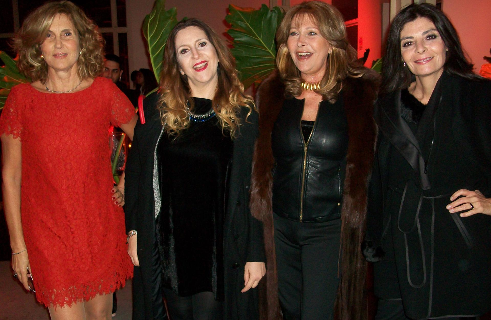 Susana Milano,Adriana Szusterman, Patricia Lage y María Areces /// Fotos:MGI Fotos & Video