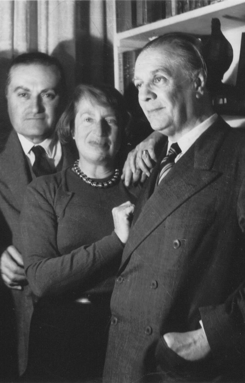 Manuel Peyrou, Silvina Ocampo, J.L.Borges