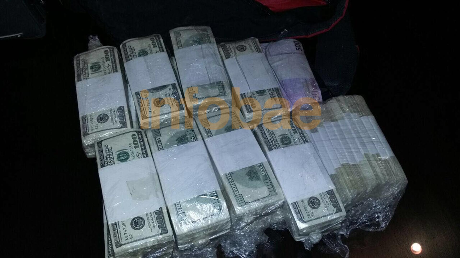 Terminaron de contar el dinero que tenía José López: USD 8.982.047