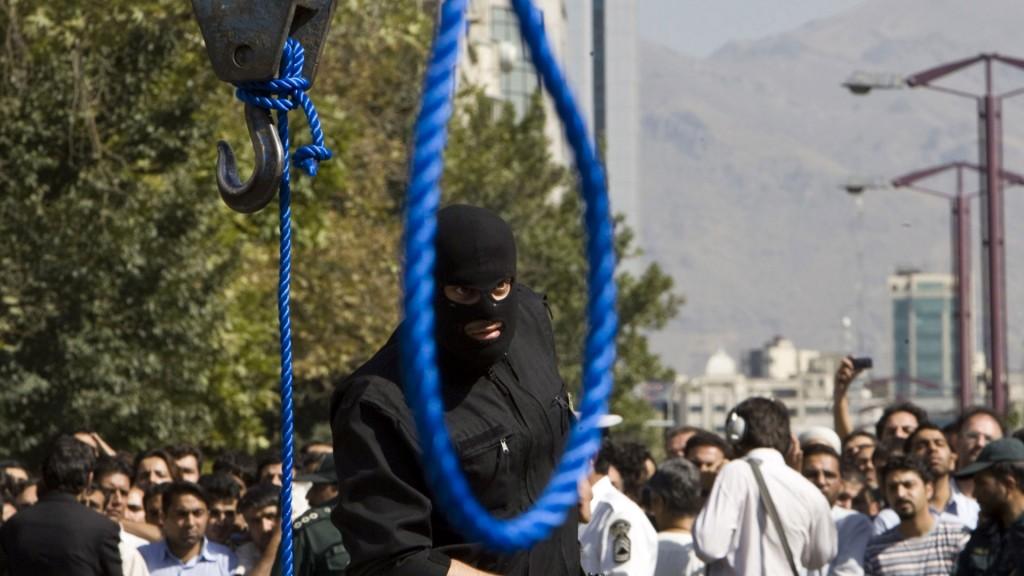 La ejecuciones en la horca son habituales bajo el régimen teocrático iraní